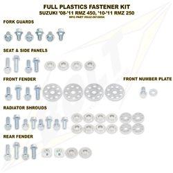 Schraubenkit für Plastikteile Suzuki RMZ 450 08- RMZ 250 10-