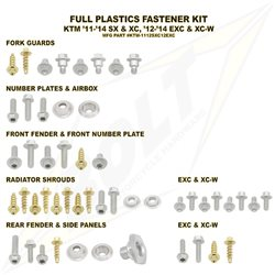 Schraubenkit für Plastikteile KTM SX SXF 2011- EXC 2012