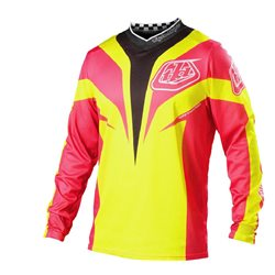 Troy Lee Designs Gp Air Jersey Mirage yellow/pink