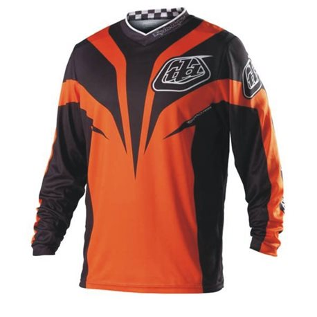 Troy Lee Designs Gp Jersey Mirage orange/black