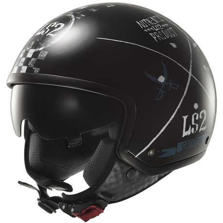 LS2 OF561 Wave Helm great black