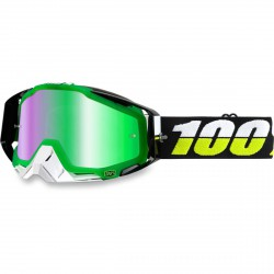 100% Racecraft Simbad, Mirror Green Lens