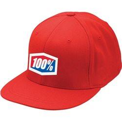 100% Cap rot L / XL