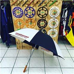 Sonnenschirm Regenschirm Umbrella 120cm black white motoXstore.de