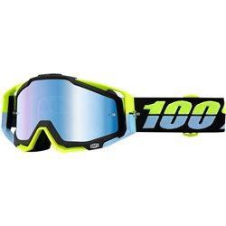 100% Racecraft Mx Goggle Antigua mirror blue blau verspiegelt