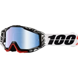 100% Racecraft Mx Goggle Zoolander, Mirror Blue Lens
