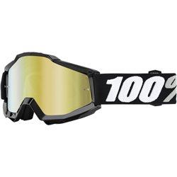 100% Accuri Mx Goggle Tornado mirror gold verspiegelt