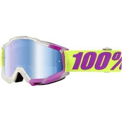 100% Accuri Mx Goggle Tootaloo mirror blue blau verspiegelt