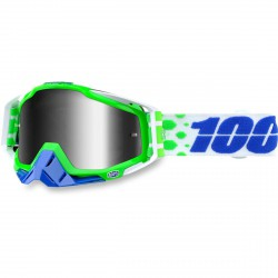 100% Racecraft Mx Goggle Alchemy, Mirror Silver Lens