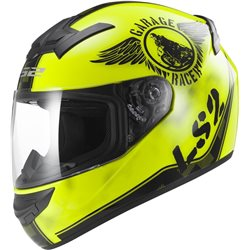 LS2 FF352 Rookie Fan Helm yellow Größe L