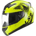 LS2 FF352 Rookie Fan Helm yellow