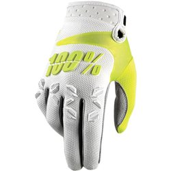 100% Airmatic Glove white