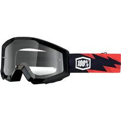 100% Strata Mx Goggle Junior Slash, Mirror Clear Lens
