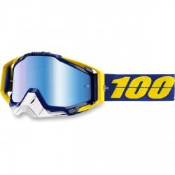 100% Racecraft Lindstrom, Mirror Blue Lens
