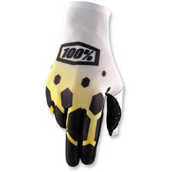 100% Celium Glove black yellow