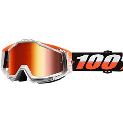 100% Racecraft Mx Goggle Ultrasonic, Mirror Red Lens
