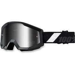 100% Strata Mx Goggle Goliath, Mirror Silver Lens