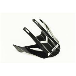 LS2 Helmschirm MX437 Gloss Black Ersatzschild