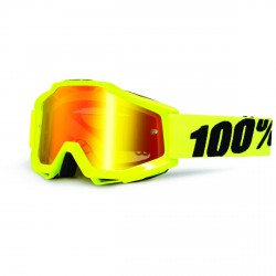 100% Accuri Fluo Yellow, Mirror Red Lens