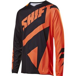 Shift 3lack Mainline Jersey Black Orange