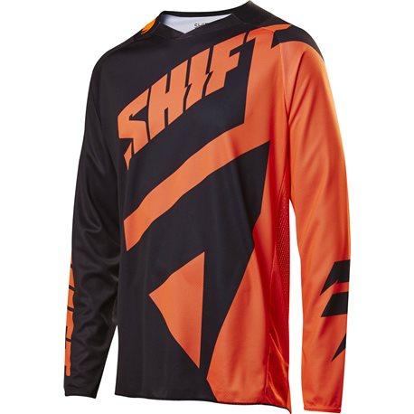 Shift 3lack Mainline Jersey Black Orange