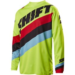Shift Whit3 Tarmac Jersey Fluo Yellow Neon Gelb