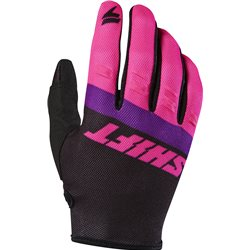 Shift Whit3 Air Glove Black Pink