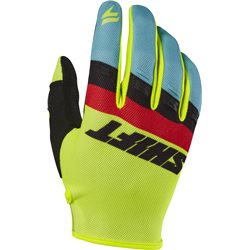 Shift Whit3 Air Glove Fluo Yellow Neon Gelb