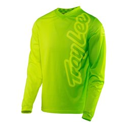 Troy Lee Designs Gp Air Jersey 50/50 Fluo Yellow Green Neon Gelb