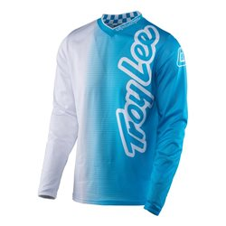 Troy Lee Designs Gp Air Jersey 50/50 White Blue