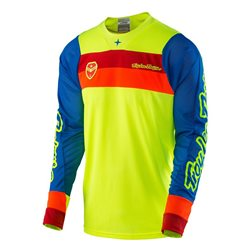 Troy Lee Designs Se Air Jersey Corsa Fluo Yellow Neon Gelb