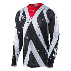 Troy Lee Designs Se Air Jersey Phantom White Black