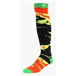 Troy Lee Designs Gp Socks Socken Galaxy Black Yellow 11-13