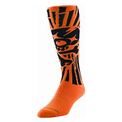Troy Lee Designs Gp Socks Socken Skully Orange 11-13
