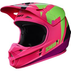 Shift Whit3 Tarmac Helmet Helm Black Pink