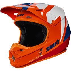 Shift Whit3 Tarmac Helmet Helm Orange