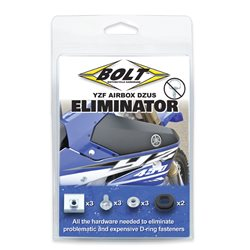 Bolt Eliminator Kit Yamaha YZF WR WRF 250 450 Airbox Schrauben Luftfilterkasten