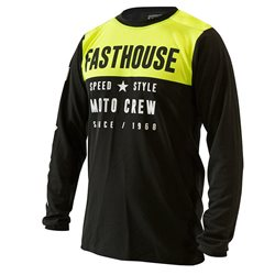 Fasthouse Boss Man Jersey Fluo Yellow