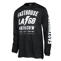 Fasthouse Solid Cool Jersey Black