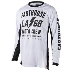 Fasthouse Solid Cool Jersey White