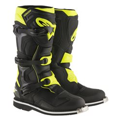 Alpinestars Tech1 MX Stiefel Fluo Yellow Neon Gelb
