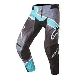 Alpinestars Techstar Venom Pants Black Teal Dark Grey 2017