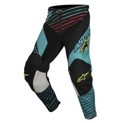 Alpinestars Racer Braap Pants Teal Black Fluo Yellow 2017