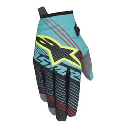 Alpinestars Radar Tracker Gloves Teal Black Fluo Yellow Handschuhe 2017