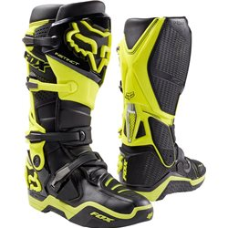 Fox Instinct Stiefel Black Yellow 2017