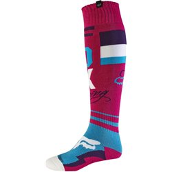 Fox Motocross Socken Fri Rohr Thin Purple 2017