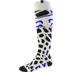 Fox Motocross Socken Grav Coolmax Thin White