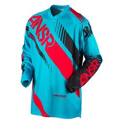Answer Syncron Jersey Cyan Red 2017