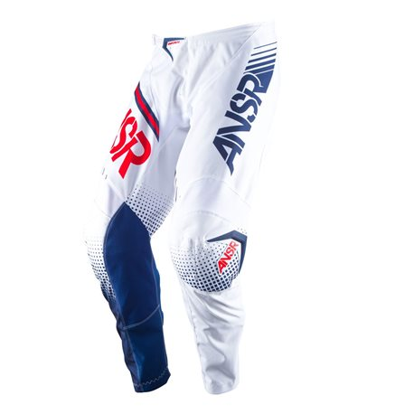 Answer Syncron Pants White Red 2017