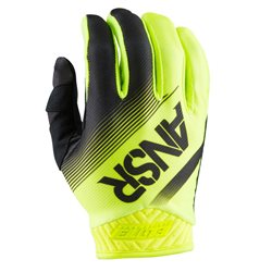 Answer Mx Glove Elite Black Hi-Viz Yellow 2017
